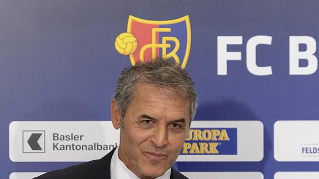 Der neue FCB-Trainer Marcel Koller