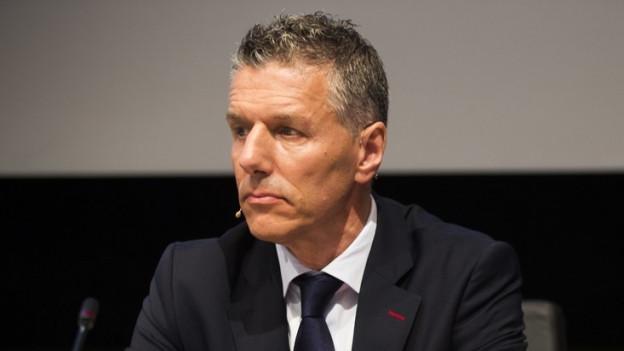René Kamm, abtretender Chef der Messe Basel.