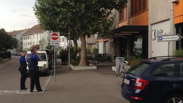 Banküberfall in Riehen