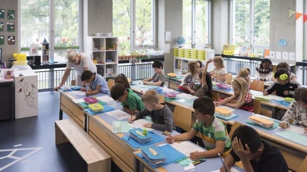 Es wird wieder gelernt an den Basler Schulen.