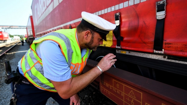 Im Güterbahnhof Weil am Rhein werden vermehrt Flüchtlinge aufgegriffen