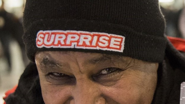 Surprise-Verkäufer