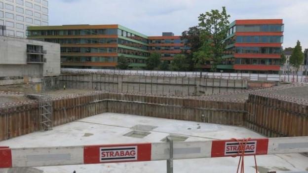 Der Campus liegt in unmittelbarer Nähe zum Kinderspital UKBB.