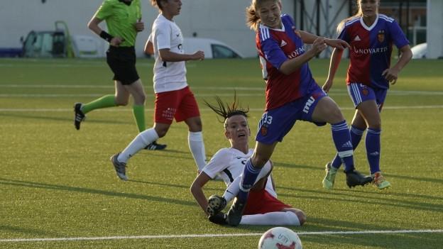 Frauenmannschaft des FC Basel ohne Erfolg