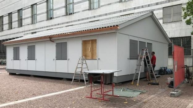 Eine originalgetraue Nachbildung des Gassenzimmers an der Dufourstrasse.