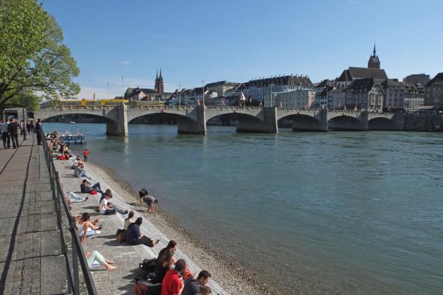 Das Tötungsdelikt geschah am Kleinbasler Rheinbord