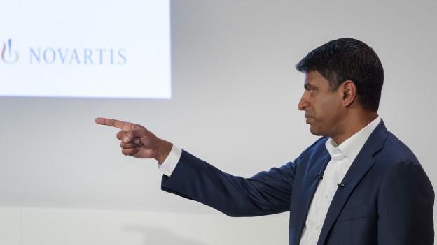 Der Novartis-Chef kündigte den Abbau am Dienstag an