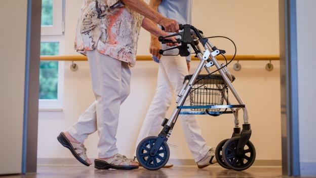 Basel-Stadt unterstützt Pflegeheime finanziell