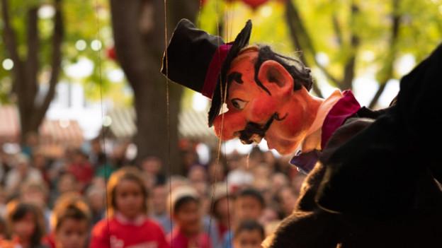 Marionetten begeistern Kinder