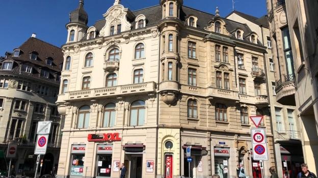 Interdiscount verabschiedet sich vom Basler Marktplatz
