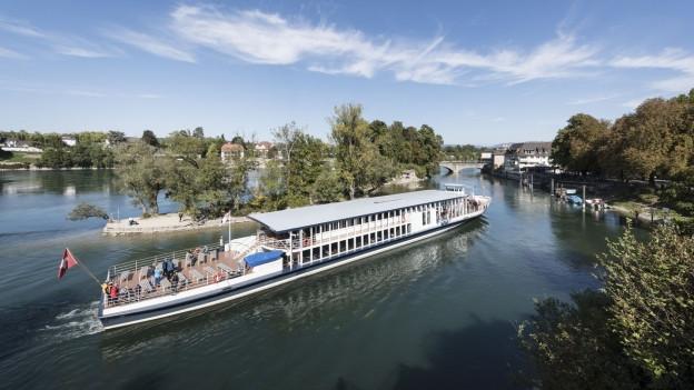 Schiffe können in Rheinfelden nicht anlegen