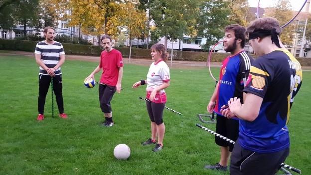 Quidditch SpielerInnen