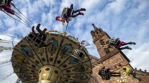 Die Basler Herbstmesse startet auch in diesem Jahr am letzten Samstag im Oktober