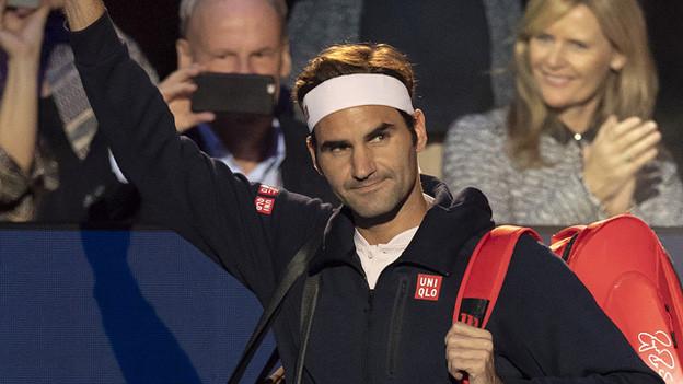 Roger Federer steht in den Achtelfinal