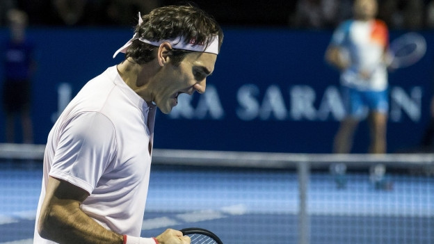 Roger Federer gewinnt zum neuten Mal die Swiss Indoors