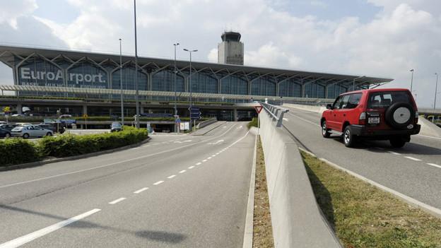 Zufahrt zum Euroairport: in Zukunft beschränkt