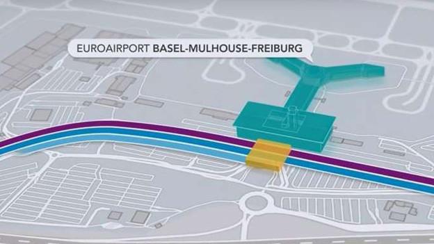 Wie weiter auf dem Euroairport?