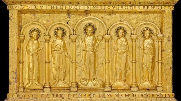 Die goldene Altartafel wird erstmals nach vielen Jahrzehnten aus Paris an den Ort ihrer Bestimmung zurückkehren.