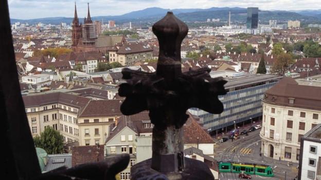 Kreuz auf Dach