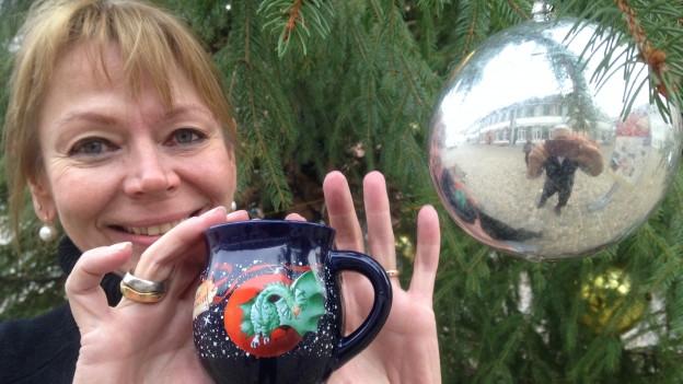 Neue Tasse für den Weihnachtsmarkt