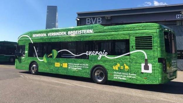 Der neue Bus fährt leiser und sanfter