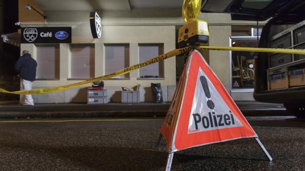 Der Mord geschah in einem Café in Kleinbasel.