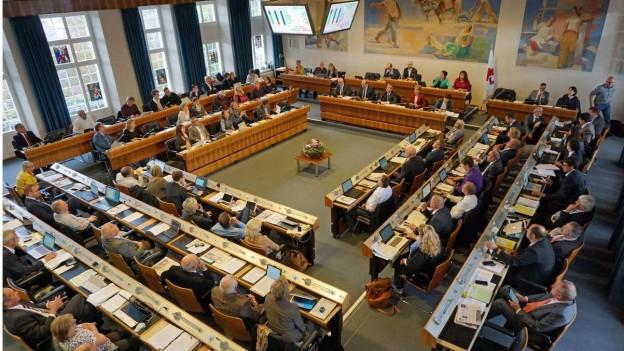Im Landrat startete am Mittwochabend die Budgetdebatte.