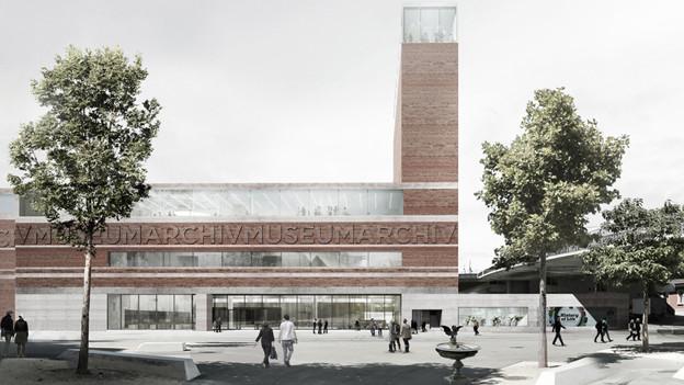 Neben dem Museum soll auch das Staatsarchiv ins St. Johann-Quartier zügeln.