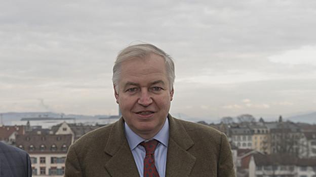 Neugewählt: Heiner Vischer (LDP)