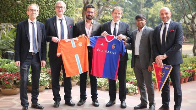 Es ist das erste strategische und finanzielle Investment eines europäischen Clubs in Indien überhaupt.