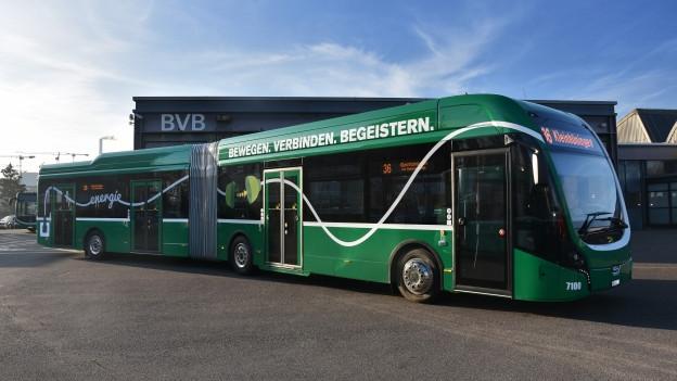 Der neue Elektrobus wird auf den Linien 30 und 50 eingesetzt.