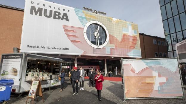 Die Muba findet nach 103 Jahren zum letzten Mal statt.