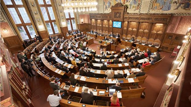 Der Grosser Rat verabschiedete die Klima-Resolution am Mittwoch