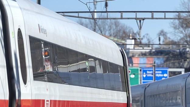 ICE entgleiste in Basel