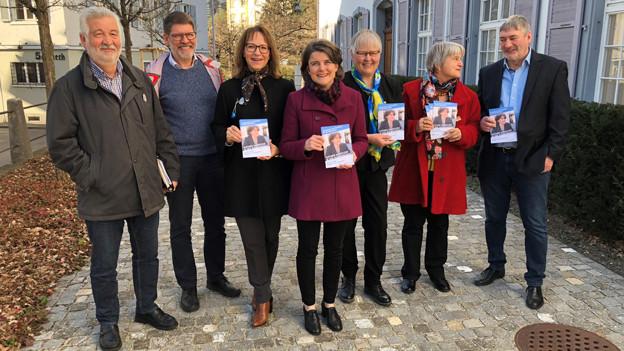 Schweizer mit Komitee