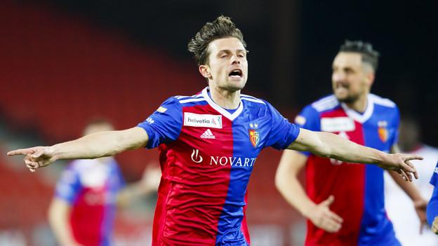 Valentin Stocker schoss in der Nachspielzeit die beiden entscheidenden Tore.