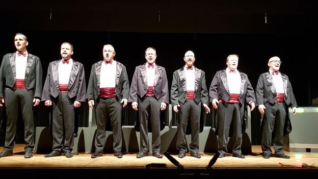 Die Stedtli-Singers feuern Pointen ab