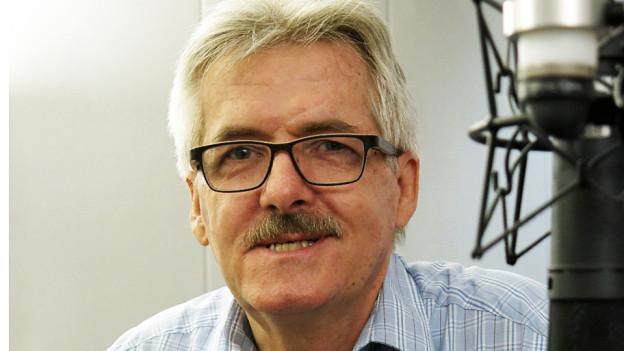 Oskar Kämpfer, Noch-Präsident der Baselbieter SVP.