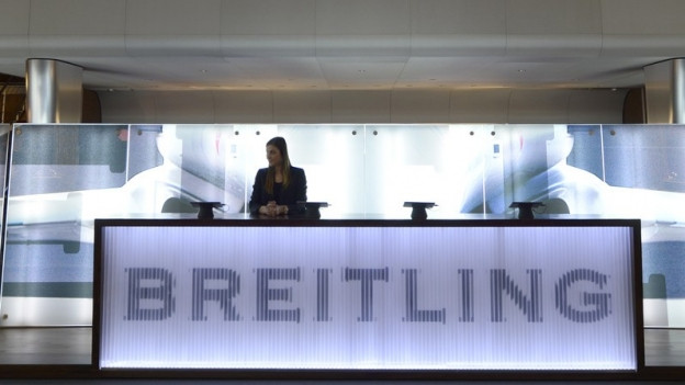 Breitling-Stand an Baselworld