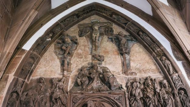 Im Basler Münster gibt es einige wertvolle Kulturschätze. Diese werden systematisch in einer Datenbank erfasst.