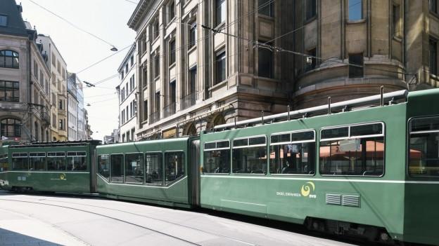 Tram in Innenstadt