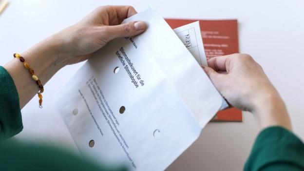 Staatskanzlei Basel-Stadt: Viele Abstimmungscouverts ungültig