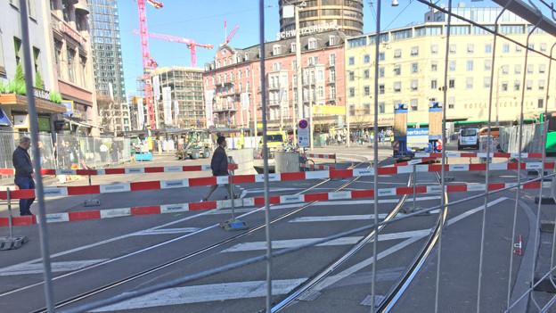 Baustelle Centralbahnplatz