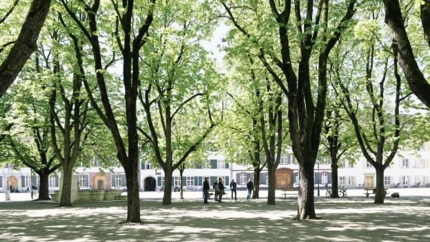 Der kleine Münsterplatz - ein beliebter Treffpunkt und Veranstaltungsort
