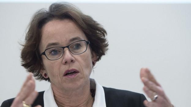 Eva Herzog ist seit 2005 Basler Finanzdirektorin.