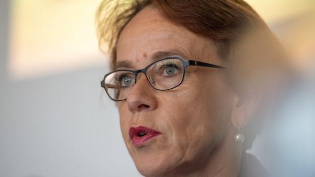 Regierungsrätin Eva Herzog
