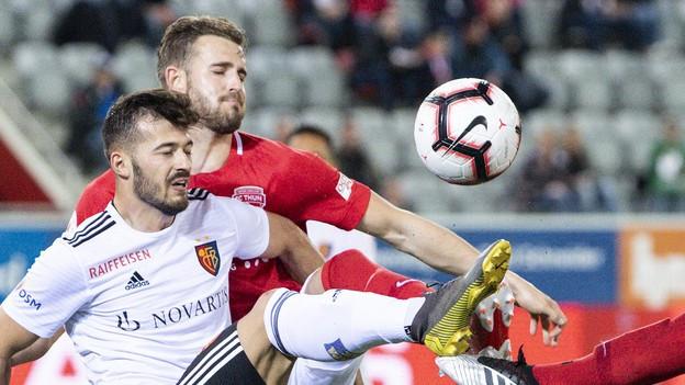 Der FCB schlägt Thun