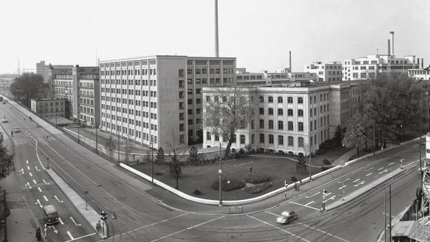 Das Klybeck-Areal im Jahr 1958.