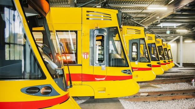 Auf den Linien 10, 11 und 17 wurden 2018 weniger Passagiere befördert.