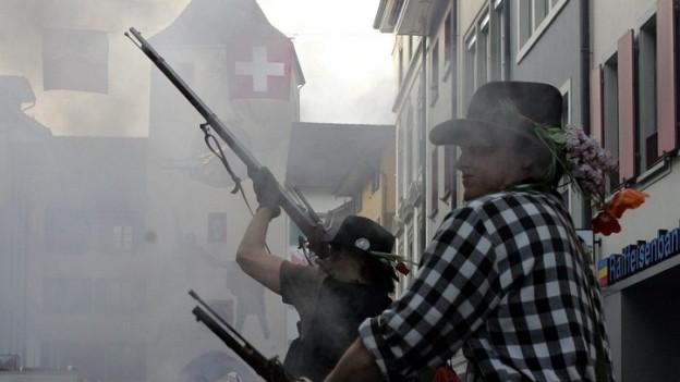 Banntag in Liestal - eine Männersache